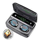 Prtukyt F9 Bluetooth 5.0 Wireless Earbuds with Wireless Charging Case IPX8 Waterproof TWS
