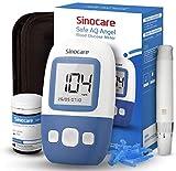 sinocare Safe AQ Angel Blutzuckermessgerät Set mit Teststreifen x25, [2020 Upgrade]...