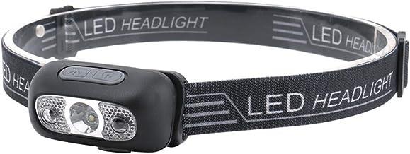 Hoofd Torch Mini LED Koplamp USB Oplaadbare Koplampen Body Bewegingssensor Hoofd Licht Zaklamp Glare Nachtvissen IP44