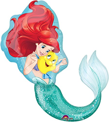 Little Mermaid Ariel Super Shape Mylar Foil Balloon
