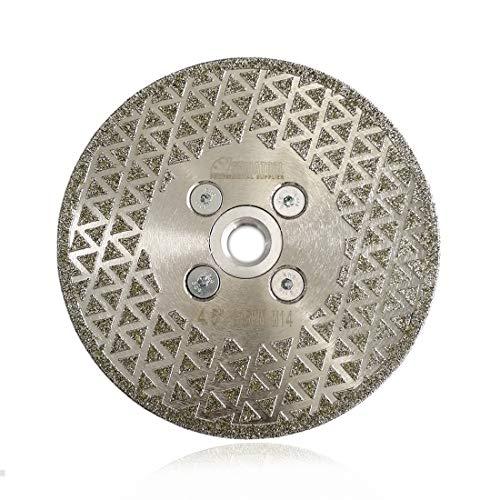 SHDIATOOL Disco Diamante 115mm Electrochapado Hoja de Sierra