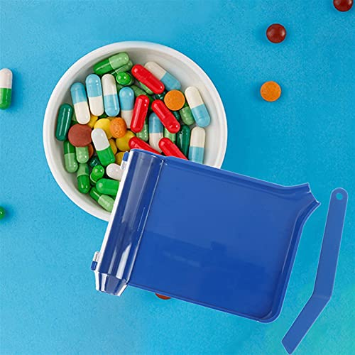 HEHXKJ Medical box 1 Pcs Pills Counting Tray Pills Counter Dispenser Pharmacy Doctor Pharmacists Tool Pill Box And Separator (Color : 1)