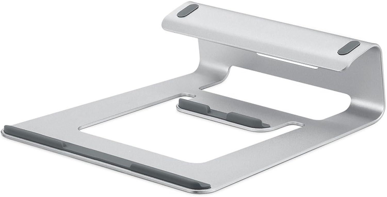 MX Notebook Stand, Desktop Desktop MacBook Apple Computer Shelf, Portable Aluminum Base Raised Racks, 196mm234mm217mm66mm @
