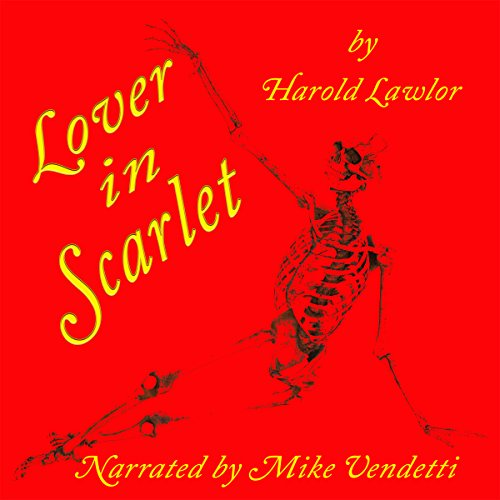 Lover in Scarlet audiobook cover art
