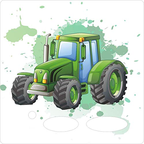 Farbklecks Collection - Schutzfolie passend für Toniebox – Traktor