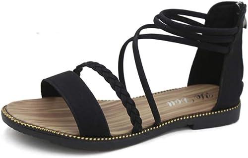 WUWUKAI Sandals Super Fire Chaussures d'été d'été pour Femmes Wild Wild  plus abordable