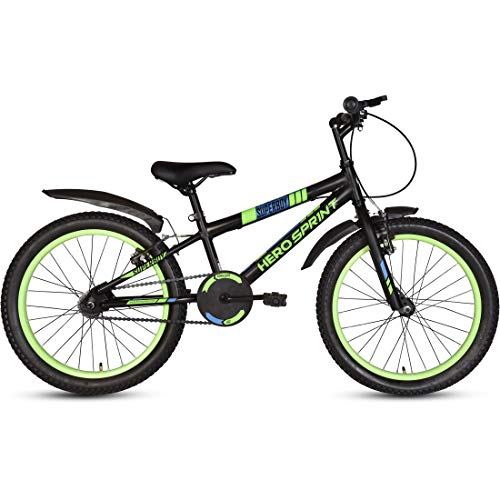 Hero Superboy 20T Single Speed Cycle, 14' Frame (Green)