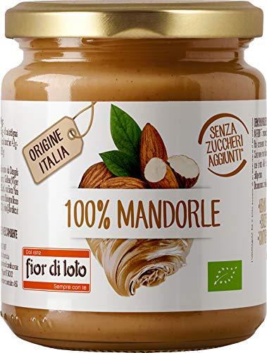 Fior di Loto Crema 100% di Mandorle Tostate - 200 g