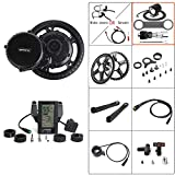 BAFANG 36V 500W Mid Drive Conversion Kit Electric Bicycle Mid Motor Kit E-Bike for Adults Cycling for Road Bikes Mountain Bike