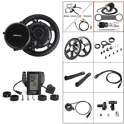 BAFANG 36V 500W Mid Drive Conversion Kit Electric Bicycle Mid
