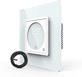 Sponsored Ad – LIVOLO Thermostat Switch with Touchscreen Color Display,Digital Wall Touch Thermometer Indoor Temperature M...