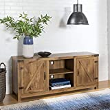 Home Accent Furnishings New 58 Inch Door Television Stand with Side Doors (58 Inch, Barnwood)