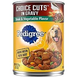 Pedigree Choice Cuts In Gravy Steak & Vegetable