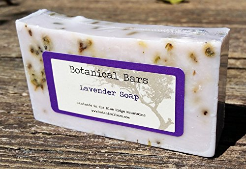 Botanical Bars Handmade Lavender Soap Bar - All Natural Lavender Soap