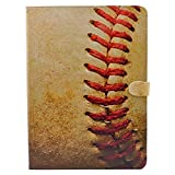 CYD Case for iPad Mini 4/5, Baseball Sports Leather Flip Case Stand Cover for iPad Mini 4 (2015 Edition) 7.9 inch,iPad Mini 5 5th (2019)