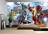 Papel Tapiz Mural Avengers Boys Bedroom Photo Wallpaper Murales De Pared 3d Papel Tapiz De Comics Habitación Infantil S Diseño De Interiores Decoración De La Habitación