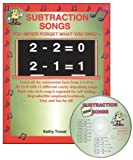 Audio Memory Subtraction Songs Workbook & CD Set