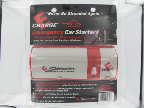 Schumacher E-Charge Emergency Car Starter (Model EC-1300)