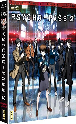 Psycho-Pass-Saison 2 [Édition Létale Blu-Ray + DVD]