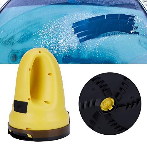 HERCHR Gratte-Glace pour Pare-Brise de Voiture, grattoir électrique pour la Neige, Outil pour enlever la Glace sur la Voiture.
