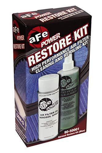 aFe Power MagnumFLOW 90-50001 Air Filter Restore Kit (Single, Blue)