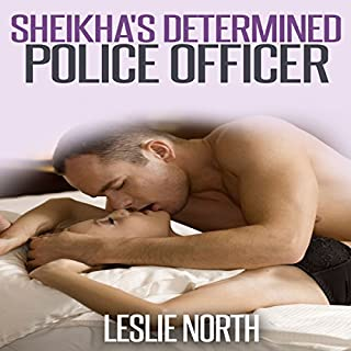 Sheikha's Determined Police Officer audiobook cover art