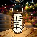 Farol Solar para Exteriores Linterna LED Solar Luces de mesa solares para jardín, al aire libre, patio, césped,...