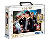 Clementoni - 61882 - Harry Potter - Puzzle 1000 pezzi in valigetta - Made in Italy - puzzle adulti