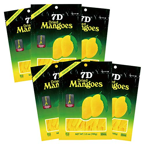 ドライマンゴー7D 6袋セット 【ハワイ、グァム おみやげ(お土産) 輸入食品 ドライフルーツ 】