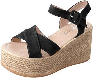 Esnegro Zapatos Amazon Mujer Sandalias Y Chanclas Para Eh9id2 MVUzpS