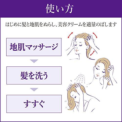 花王『セグレタ地肌も髪も洗えるマッサージ美容クリーム』