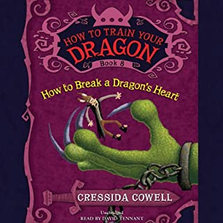 How to Train Your Dragon: How to Break a Dragon's Heart                   By:                                                                                                                                 Cressida Cowell                               Narrated by:                                                                                                                                 David Tennant                      Length: 4 hrs and 38 mins     347 ratings     Overall 4.8