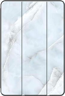 Sepikey iPad Air 1/iPad Air タブレットケース,PUレザー+ PC キズ防止 三つ折 防塵 耐落下性 三つ折タイプ 保護ケース iPad Air 1/iPad Air Case-大理石17