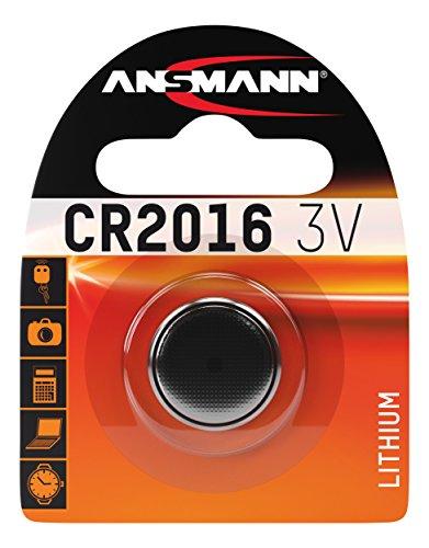 ANSMANN 5020082 Cr 2016 Pile a Bottone Batteria Litio - 3V