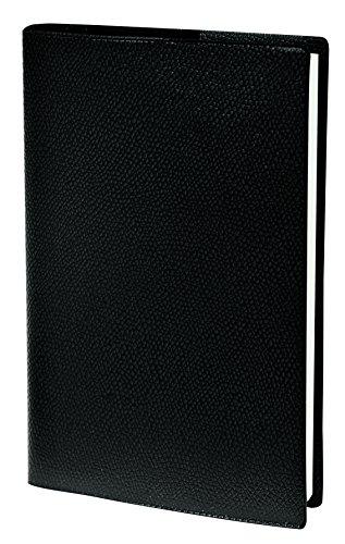 Quo Vadis 36102719MQ Sapa X Kalender 2019 (10x15 cm, Woche horizontal auf 2 Seiten, Fadenbindung, mehrsprachig) 1 Stück schwarz