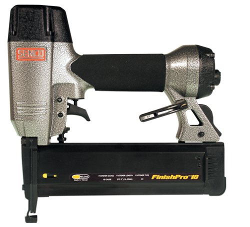 Senco FinishPro 18 18 Gauge Sequential Brad Nailer with Case