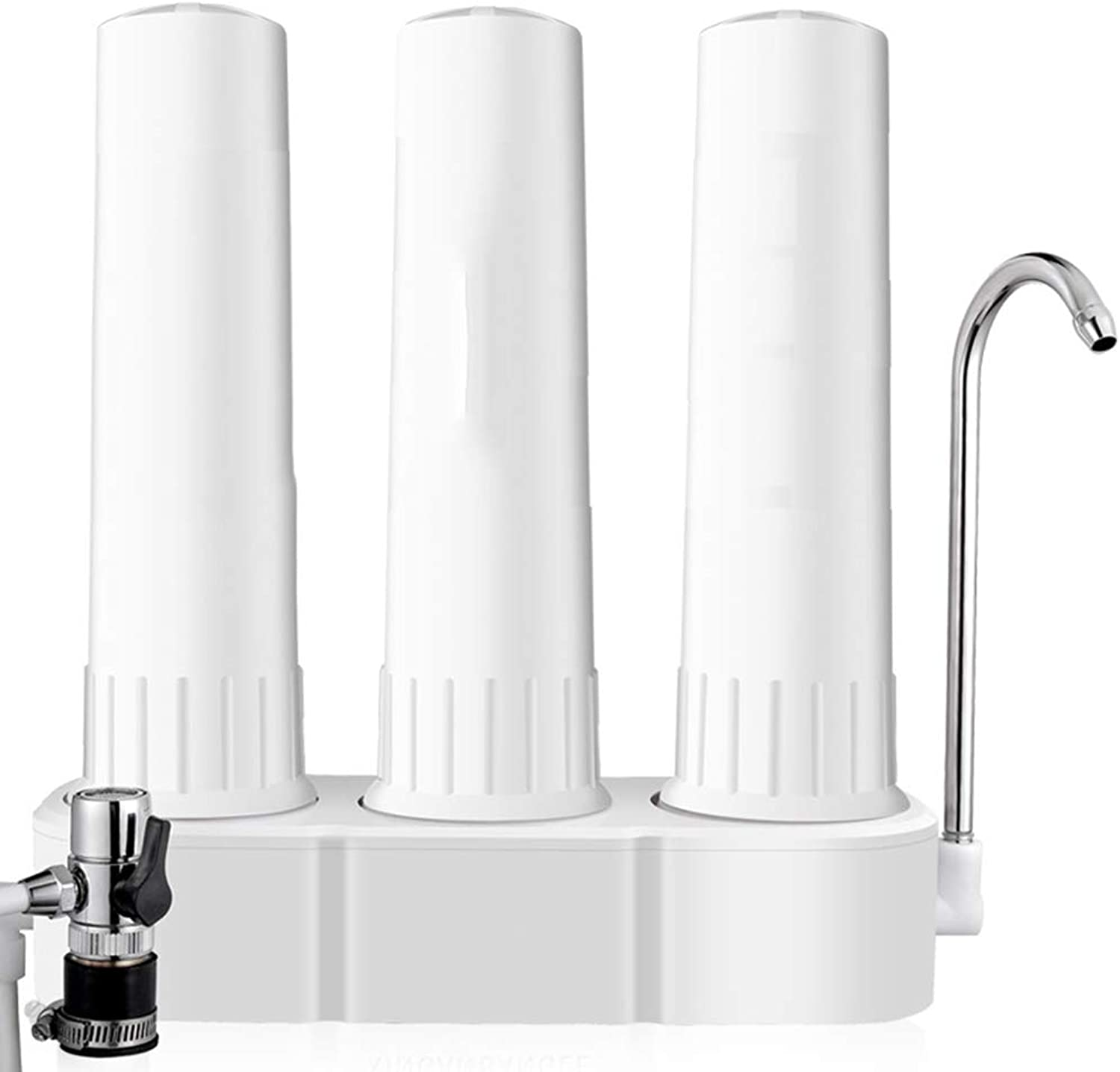 L&Z Kitchen pure water purifier Maximum Performance Reverse Osmosis Drinking Water Filtration System with Booster Pump Household water purifier faucet pre-filter 3-Stage