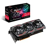 ASUS ROG Strix AMD Radeon RX 5600 XT OC Edition Gaming Graphics Card (PCIe 4.0, 6GB, GDDR6 Memory, HDMI, DisplayPort, Axial-tech Fan Design, Metal Backplate (ROG-STRIX-RX5600XT-O6G-GAMING)