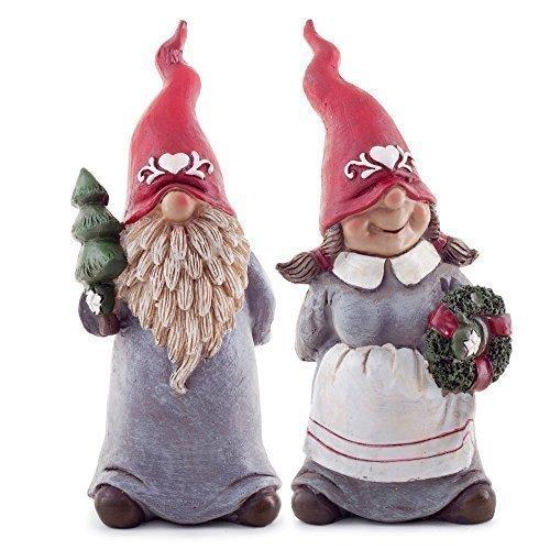 Christmas Gnomes Diy.Albert Agatha The Set Of Two 17cm Christmas Gnome