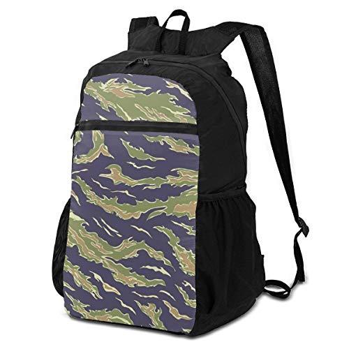 Travel Hike Zaino elegante perfettamente militare mimetico tessile, Usa, 19641975, Camouflage Industry Travel Daypack Zaino ripiegabile per le donne leggero impermeabile per uomini & Womentravel C