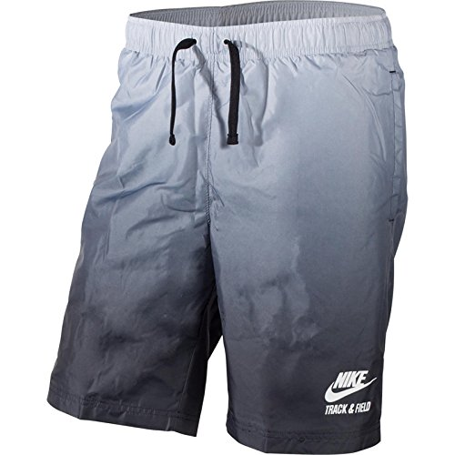 NIKE [653814-043] RU Gradient WVN Short Apparel Shorts NIKEGREY Black White