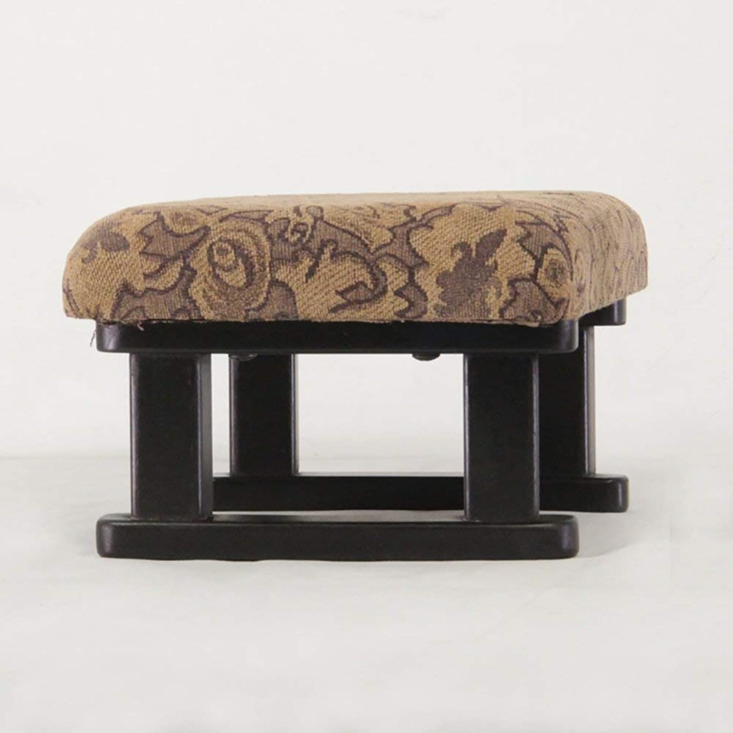 JZX Solid Wood Bench, Simple Short Multifunctional Sofa Bench