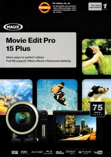 Magix Movie Edit Pro 15 Plus & Photo and Videoshow Soundpool 6 (PC DVD)