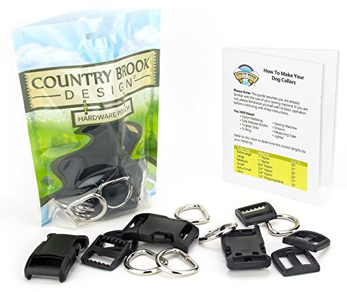 Country Brook Design - 3/4 Inch Deluxe Dog Collar Kit