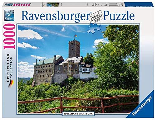 Ravensburger Puzzle 19783 - Idyllische Wartburg - 1000 Teile