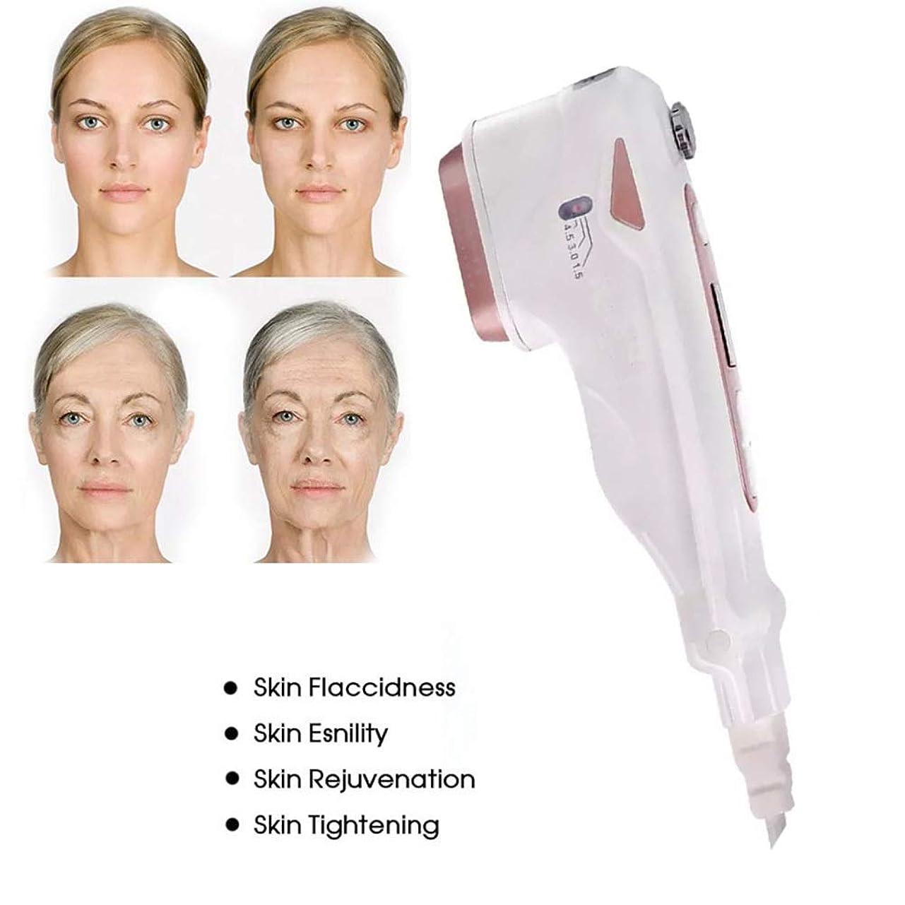 バー未就学ぴったりHIFUの高輝度家の使用皮の若返りのための携帯用顔機械しわの取り外しの反老化の引き締めの持ち上がるスキンケアのためのスキンケア