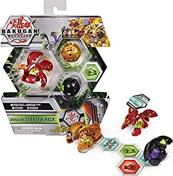 Bakugan Starter Pack 3-Pack Fused Pegatrix x Goreene Ultra Armored Alliance Collectible Action Figures