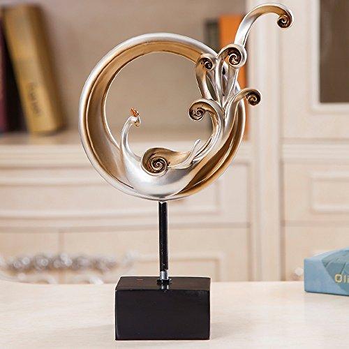 Handicraft decoratie- Europese Mode Decoratie Thuis Woonkamer TV Kast Decoratieve Handicrafts Nieuwe Huis Meubels Bruiloft Geschenken (3 Optioneel) -Beste geschenk