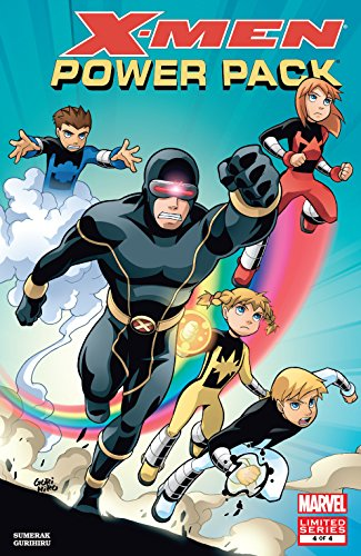 X-Men and Power Pack (2005-2006) #4 (of 4) (English Edition) eBook ...