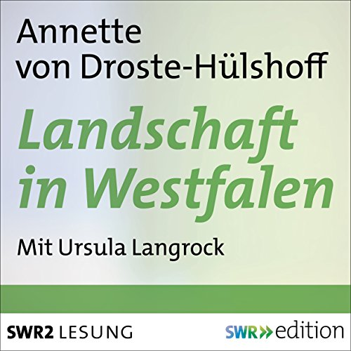 Landschaft in Westfalen Titelbild